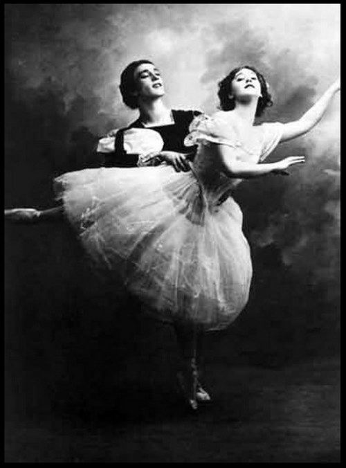Graceful Vaslav Nijinsky