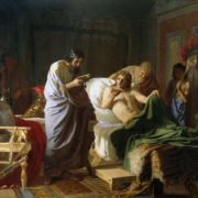 Henryk Siemiradzki. Alexander and doctor