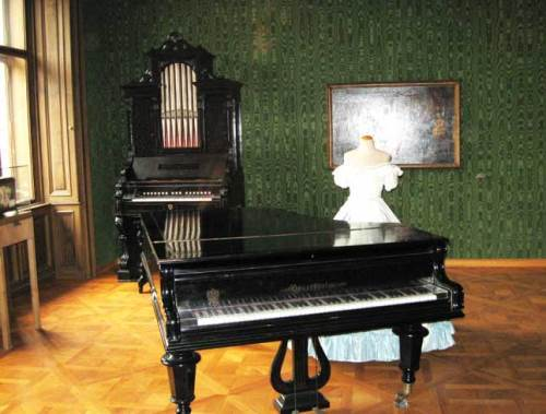 In the Johann Strauss Museum