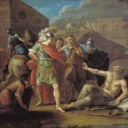 Ivan Filippovich Tupylev. Alexander and Diogenes