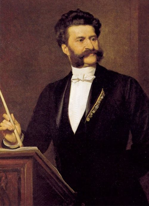 Johann Strauss Jr - Waltz King