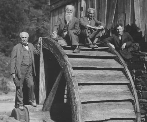 John Burroughs and his prominent guests