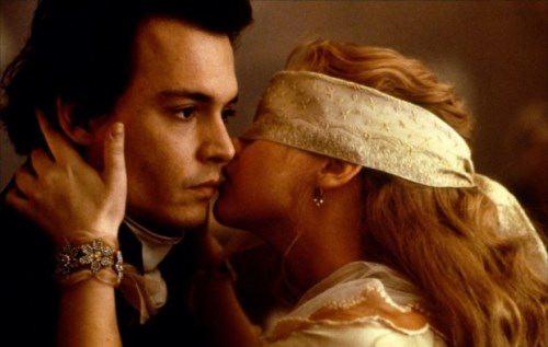 Johnny Depp and Christina Ricci
