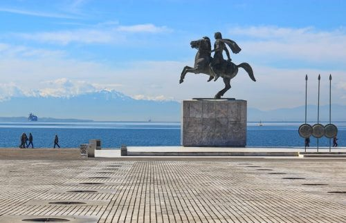 Monument to Alexander the Great