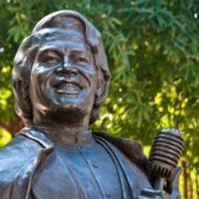 Monument to James Brown in Atlanta