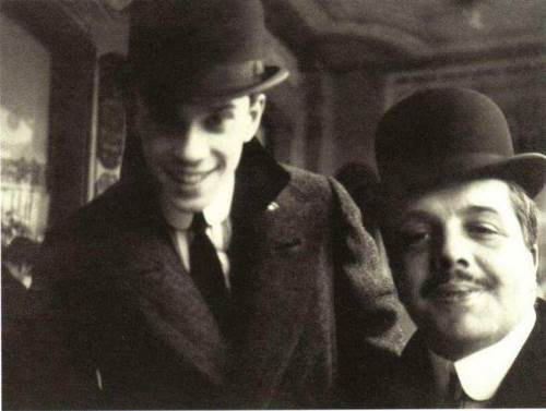 Nijinsky and Diaghilev in Nice