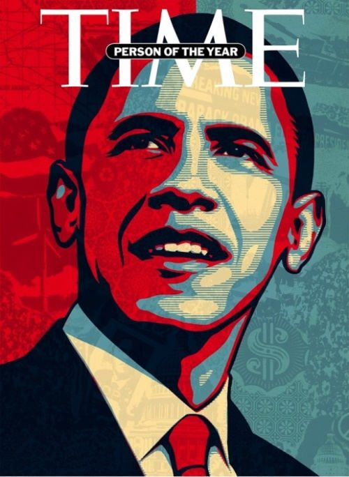 Obama on the cover of the Time magazine