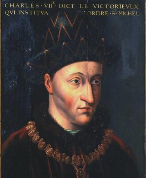 French king Charles VII. 1403