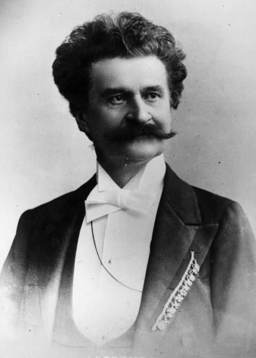Prominent Johann Strauss Jr