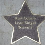 Star dedicated to Kurt Cobain