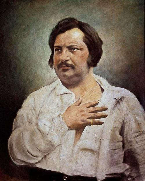 Talented Honore de Balzac