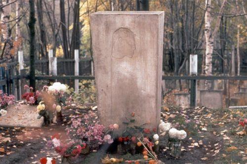 The grave of Boris Pasternak