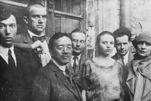 Vladimir Mayakovskiy and Boris Pasternak