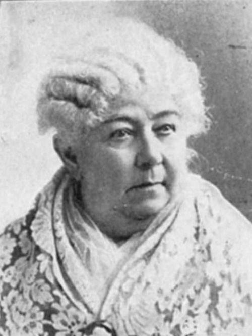 Well-known Elizabeth Cady Stanton