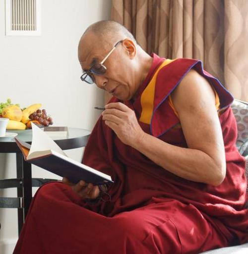 World famous Dalai Lama