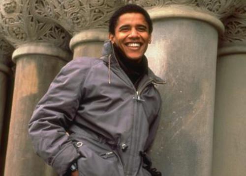 Young Barack Obama