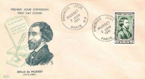 Alfred de Musset major romantic poet