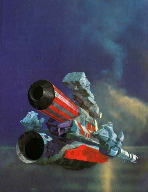 Chris Foss - Foundation, 1973