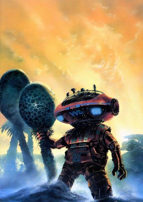Chris Foss - Robots of Dawn