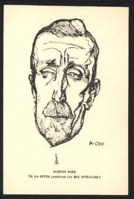 Famed Heinrich Mann