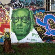 Graffiti dedicated to Asimov