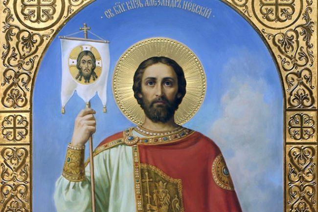 Icon of Alexander Nevsky