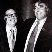 Isaac Asimov and Gene Roddenberry