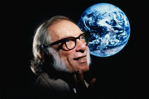 Isaac Asimov - science fiction writer