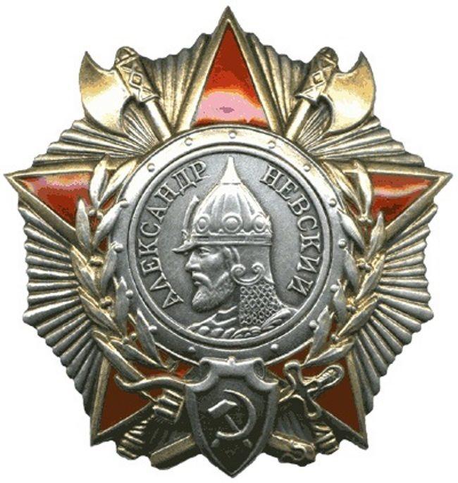 Order of Alexander Nevsky