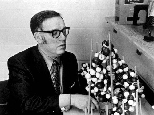 Prominent Isaac Asimov