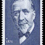 Stamp dedicated to Heinrich Mann