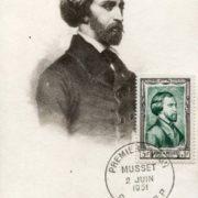 Talented writer Alfred de Musset