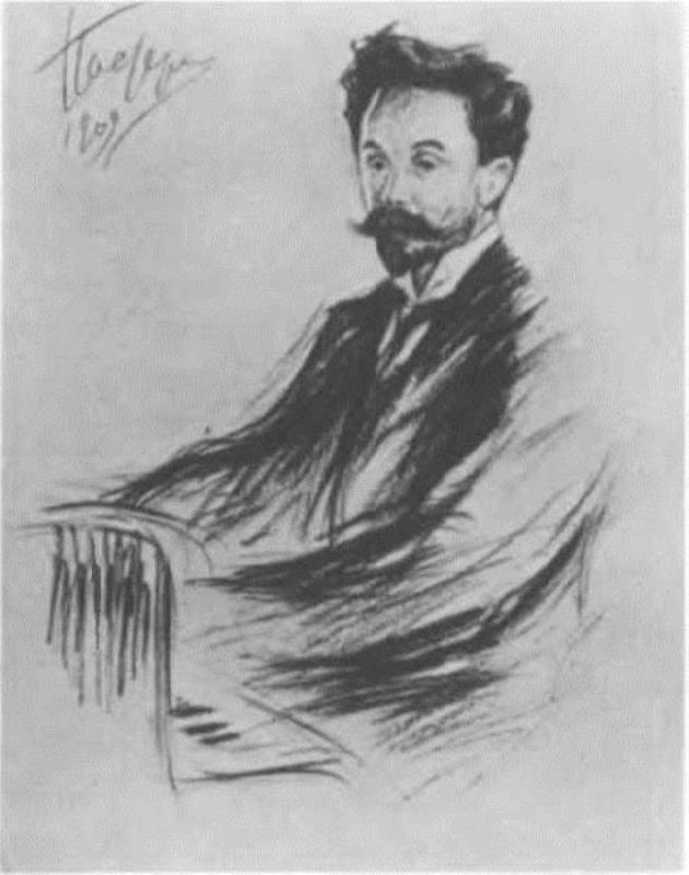 A. N. Scriabin by Pasternak