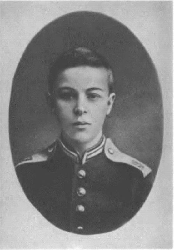 A.N. Scriabin-cadet