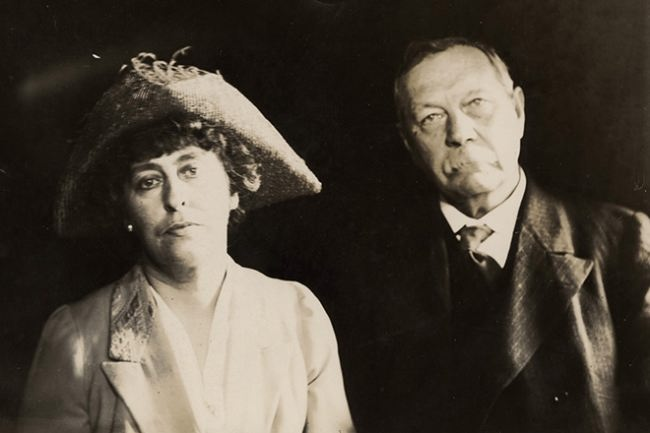 Arthur Conan Doyle and the second wife Jean Leckie