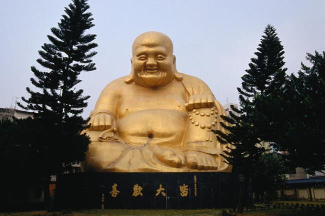 Buddha statue in Taichung, Taiwan