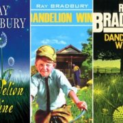 Covers of Ray Bradbury's novel Dandelion Wine