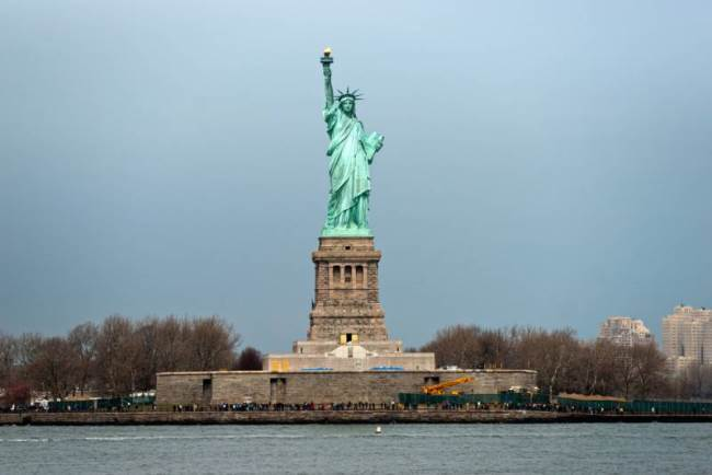 Eiffel designed a metal frame for the Statue of Liberty
