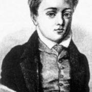 Flaubert in his childhood