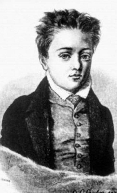 Flaubert in his childhood