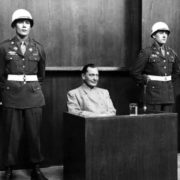 Göring at the Nuremberg Trials
