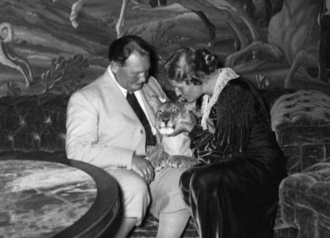 Hermann Goering and his wife