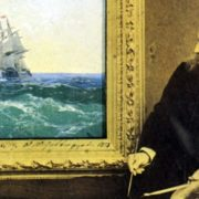 Ivan Aivazovsky at work