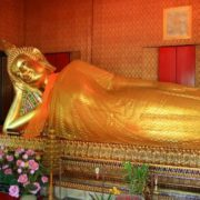 Lying Buddha in Bangkok, Thailand