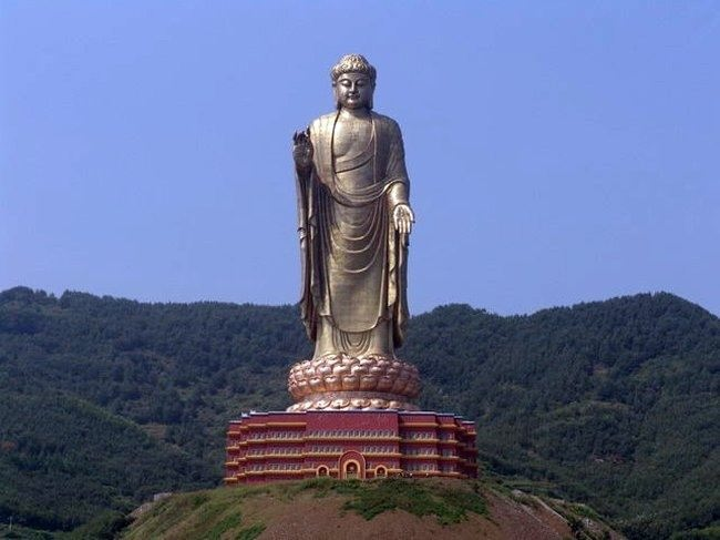 Monument of the Spring Buddha in Henan Province, China