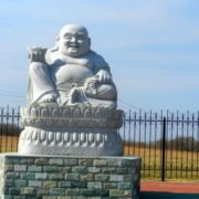 Monument to Buddha in Primorsky Krai, Russia. Photo Vladivostok.ru