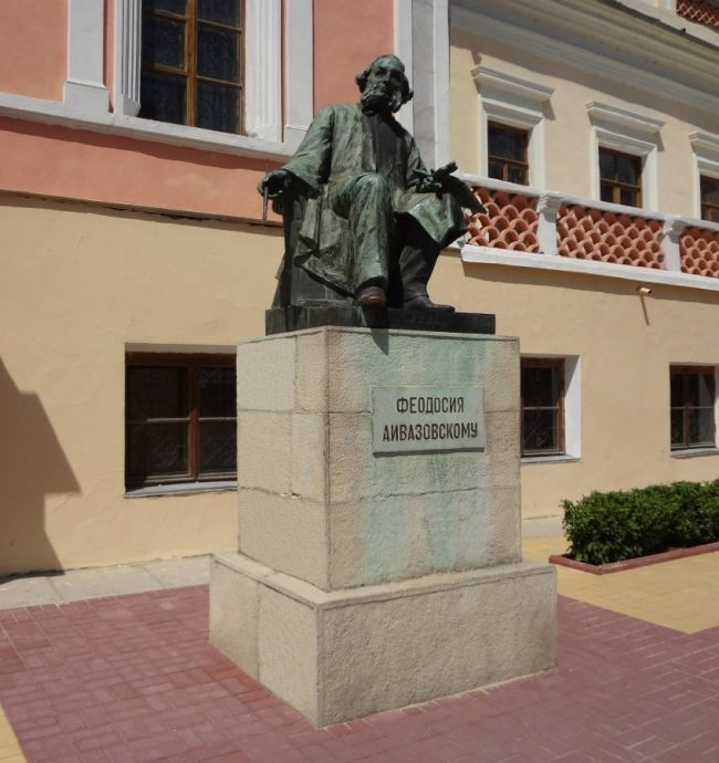 Monument to Ivan Aivazovsky in Feodosia