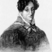 Portrait of G. Flaubert's mother