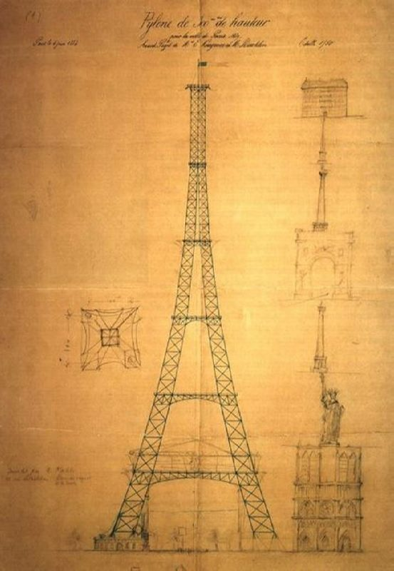 Project of the Eiffel Tower