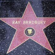 Ray Bradbury star on the Walk of Fame in Hollywood